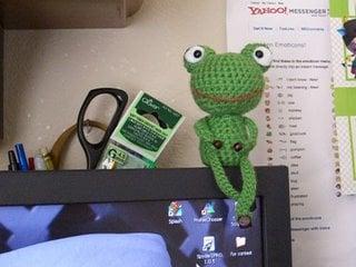 Mr. Frog by Amigurumi Girl
