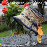 Chameleon Hat – Gone Fishing ~ Pattern Paradise