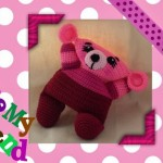Funmigurumi Cuddlers: Hallie the Bear by Craftybegonia's Funmigurumi and Kids' Stuff