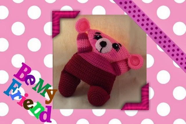 Funmigurumi Cuddlers: Hallie the Bear by Craftybegonia's Funmigurumi and Kids' Stuff