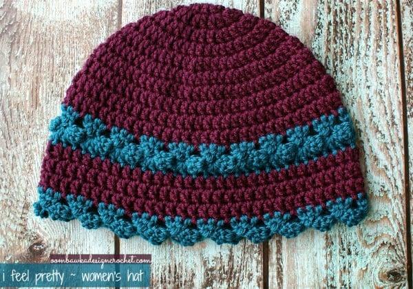 I Feel Pretty - Women's Crochet Hat ~ Oombawka Design