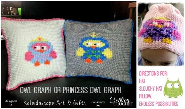 Owl Graph ~ Kaleidoscope Art & Gifts - Cre8tion Crochet