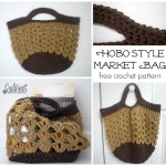 Hobo Style Market Bag by Cre8tion Crochet