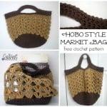 Hobo Style Market Bag ~ Cre8tion Crochet