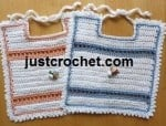 Baby Bib by JustCrochet