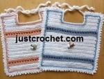 Baby Bib ~ JustCrochet