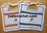 Baby Bib by JustCrochet