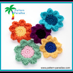 Crochet Flowers ~ Pattern Paradise