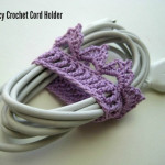 Lacy Crochet Cord Holders ~ CraftBits