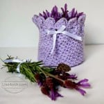 Lavender Potpourri Holder ~ Free Crochet Patterns and Designs by Lisa Auch