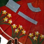 Daffodil Garden Skirt by Free Vintage Crochet