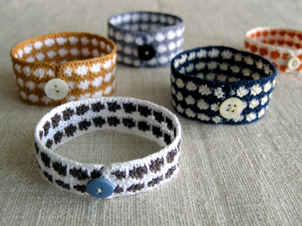 Crocheted Bracelets by The Purl Bee