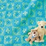 Crochet Baby Play Mat ~ Glenda Winkleman - Red Heart