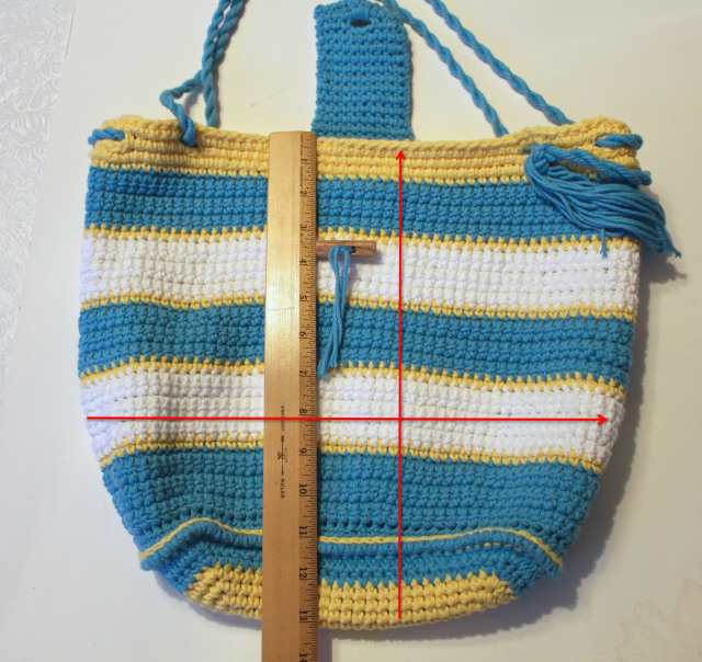 How to Line a Crocheted Bag ~ Pattern Paradise