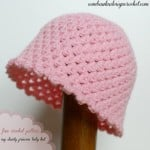 My Dainty Princess Baby Hat ~ Oombawka Design
