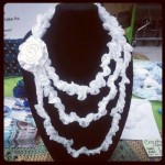 Chiq Wedding Necklace ~ Crochet Chiq