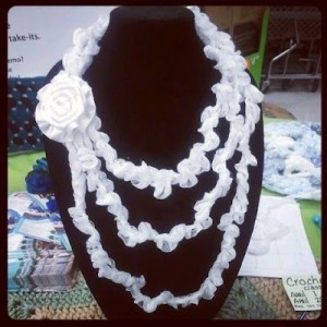 Chiq Wedding Necklace by Crochet Chiq