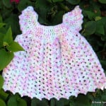 Angel Wing Baby Pinafore ~ Suzies Stuff