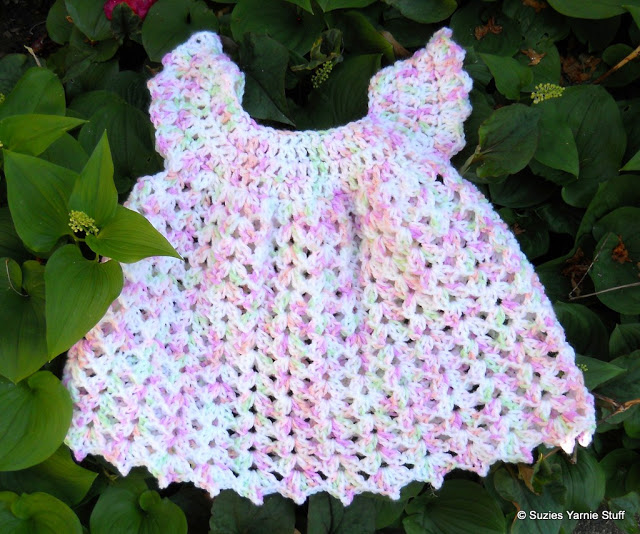 Angel Wing Baby Pinafore by Suzies Stuff