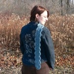 Scalloped Scarf by Planet June