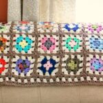 Crochet Granny Square Blanket - Petals to Picots