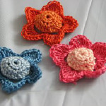 Flower Appliques by Donna's Crochet Designs