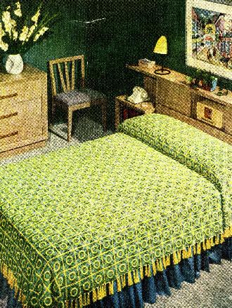 Pennsylvania Modern Bedspread (Vintage) ~ Donna's Crochet Designs