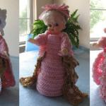 Marie Antoinette Pincushion Dolls by Donna's Crochet Designs
