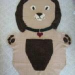Cuddle Dog Afghan ~ Donna's Crochet Designs