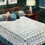 California Modern Bedspread (Vintage) by Donna's Crochet Designs