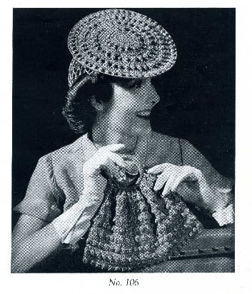 Hoop Hat, Snood & Carry All ~ Donna's Crochet Designs