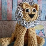 Pop Tab Lion ~ Donna's Crochet Designs