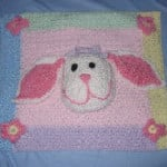 Bunny Pillow by Donna's Crochet Designs