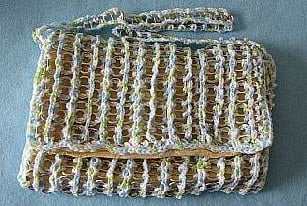 Envelope Style Pop Tab Purse by Donna's Crochet Designs
