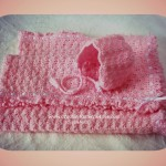 Crochet Baby Blanket in Shell Stitch ~ Free Crochet Patterns and Designs by Lisa Auch