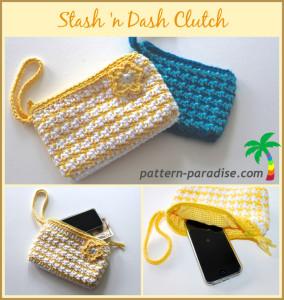 Stash 'n Dash Clutch by Pattern Paradise