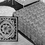Rose of Killarney Bedspread by Free Vintage Crochet