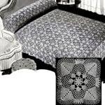 Pine Cone Bedspread by Free Vintage Crochet