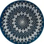 Picot Doily ~ Free Vintage Crochet