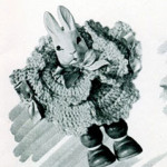 Bunny Rattle ~ Free Vintage Crochet