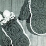 Add-A-Square Mittens ~ Free Vintage Crochet