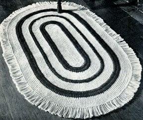 Americana Rug by Free Vintage Crochet