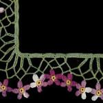 African Violet Edging Pattern ~ Free Vintage Crochet