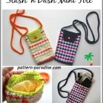 Stash 'n Dash Mini Tote ~ Pattern Paradise
