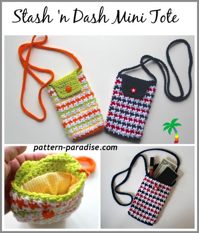 Stash 'n Dash Mini Tote by Pattern Paradise