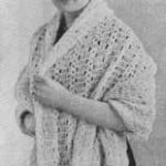 Scarf I ~ Free Vintage Crochet