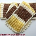 A Pretty Scarf – Patterns For Crochet