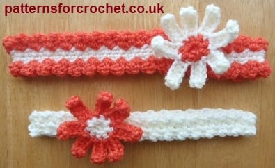 2 Headband Designs ~ Patterns For Crochet