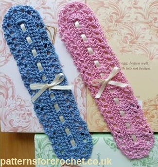 Lacy Bookmark ~ Patterns For Crochet