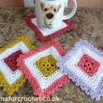 Colorful Coaster ~ Patterns For Crochet